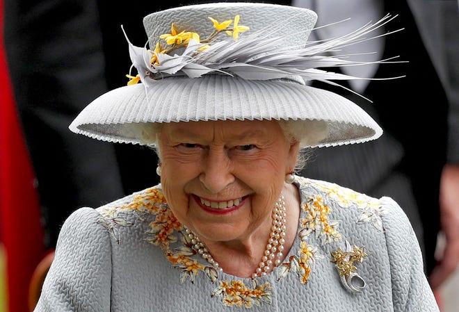 Queen Elizabeth II at the Royal Ascot horse racing meet, in Ascot on June 20, 2019.
