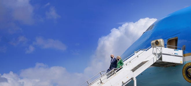 Biden heads to Europe for first foreign trip as president and meetings with G-7, Putin and the queen