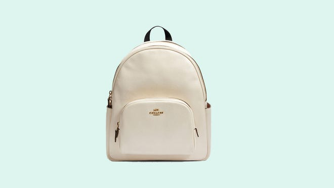 Save more than $250 on the Coach Court backpack now.