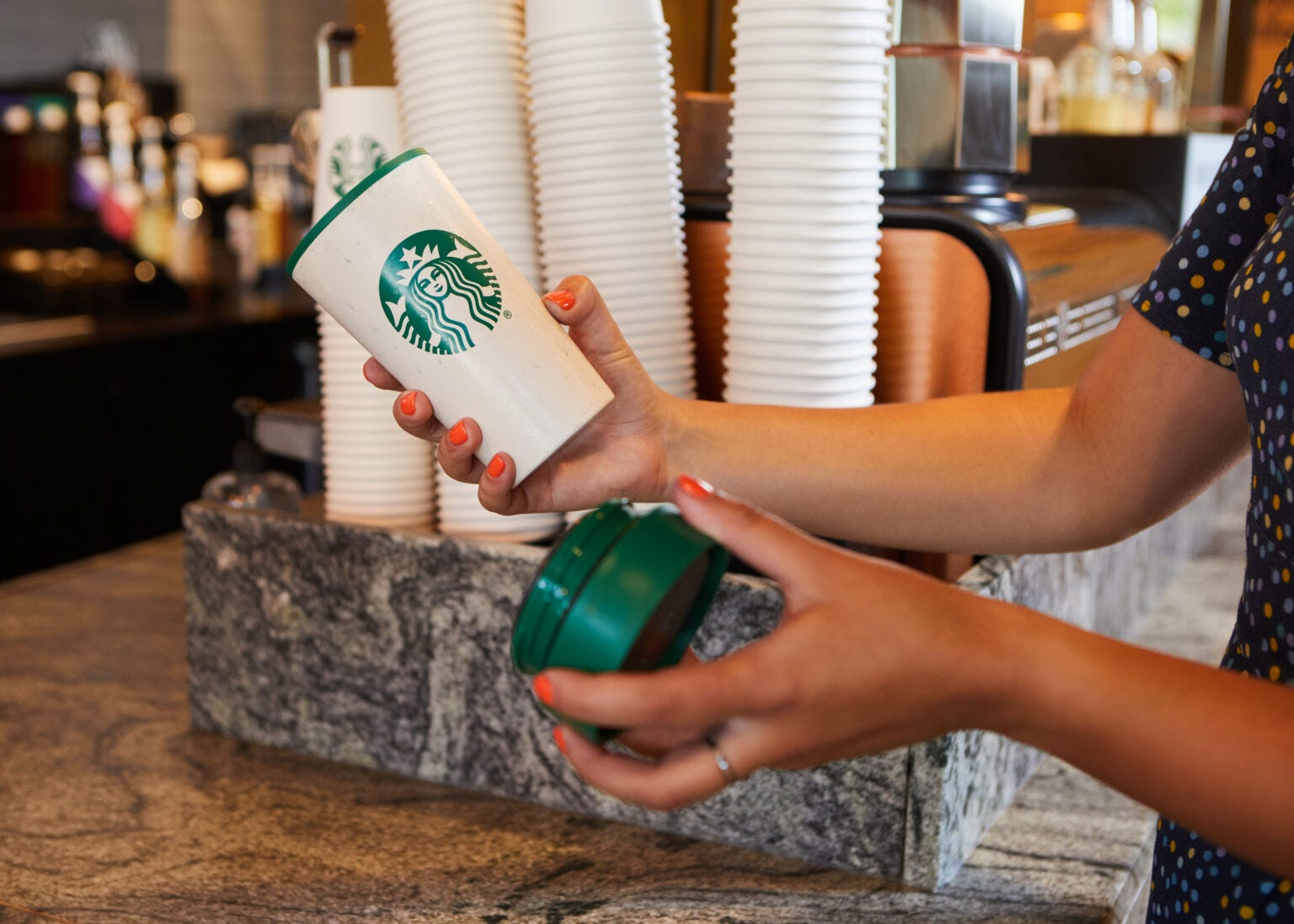 Starbucks to allow reusable cups again after 15-month break amid COVID