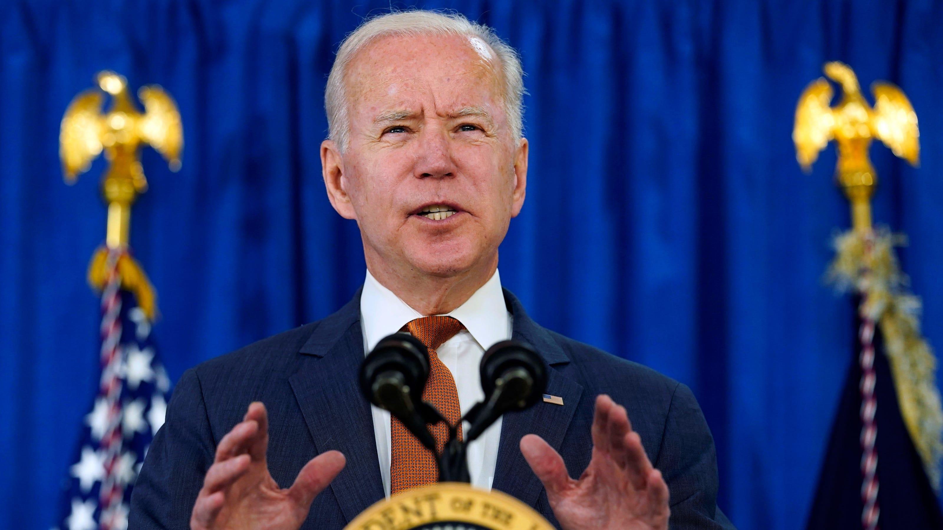 Joe Biden points to G-7 summit, NATO, Putin meeting as 'defining' moment for democracy
