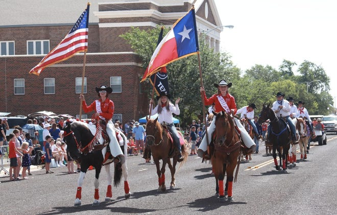 Individuals participate in the Canyon Fourth of July Celebration in 2019. The celebration is returning to Canyon July 3, after the COVID-19 pandemic prevented the event from being hosted in 2020.