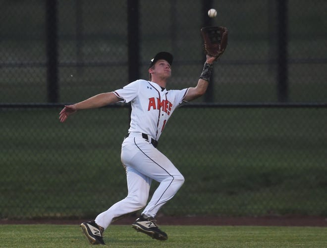 Evan Grey is part of a talented group of underclassmen returning for the Ames baseball team next season. Grey hit .390 with 37 runs and 21 RBIs in 2021 to help the Little Cyclones achieve their most victories in a season since 2014.