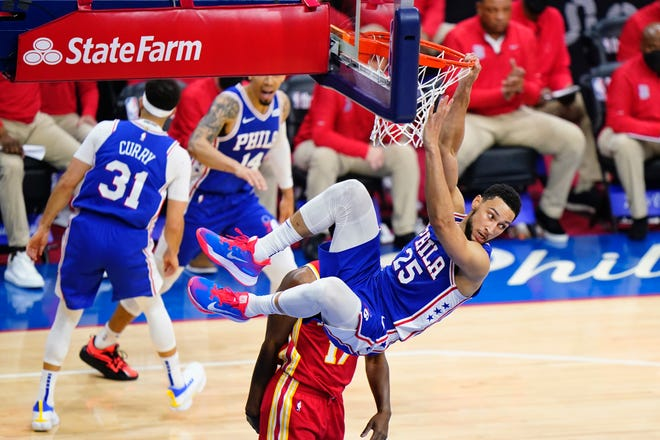 Philadelphia's Ben Simmons needs to look to score more, and improve his jump shot.