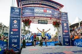 Lehigh Valley Phantoms head coach Ian Laperriere completed an Ironman competition in Quebec, Canada.