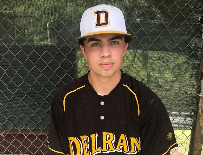 Delran's Jacob Brogan threw six shutout innings as the Bears beat Delsea 1-0 in the South Jersey Group 2 semifinals on Wednesday.