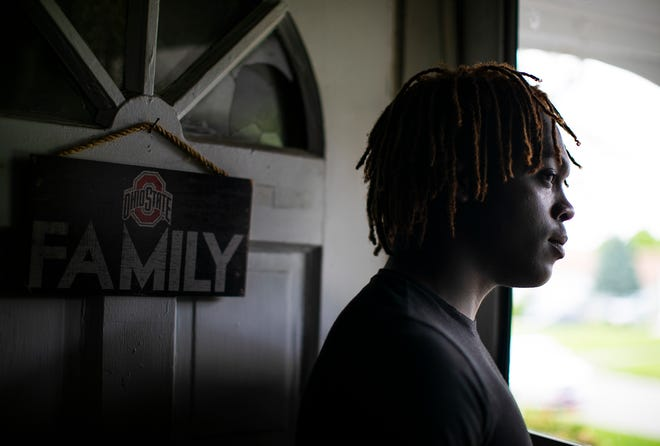 Saadiq Teague, 18, was arrested by New York City Police in April for carrying an AK-47 rifle with him in the subway. Saadiq acknowledges he made a mistake by carrying the weapon, which he said he bought for protection, but he is upset at the way people are portraying him. He says he did not intend to harm anyone.