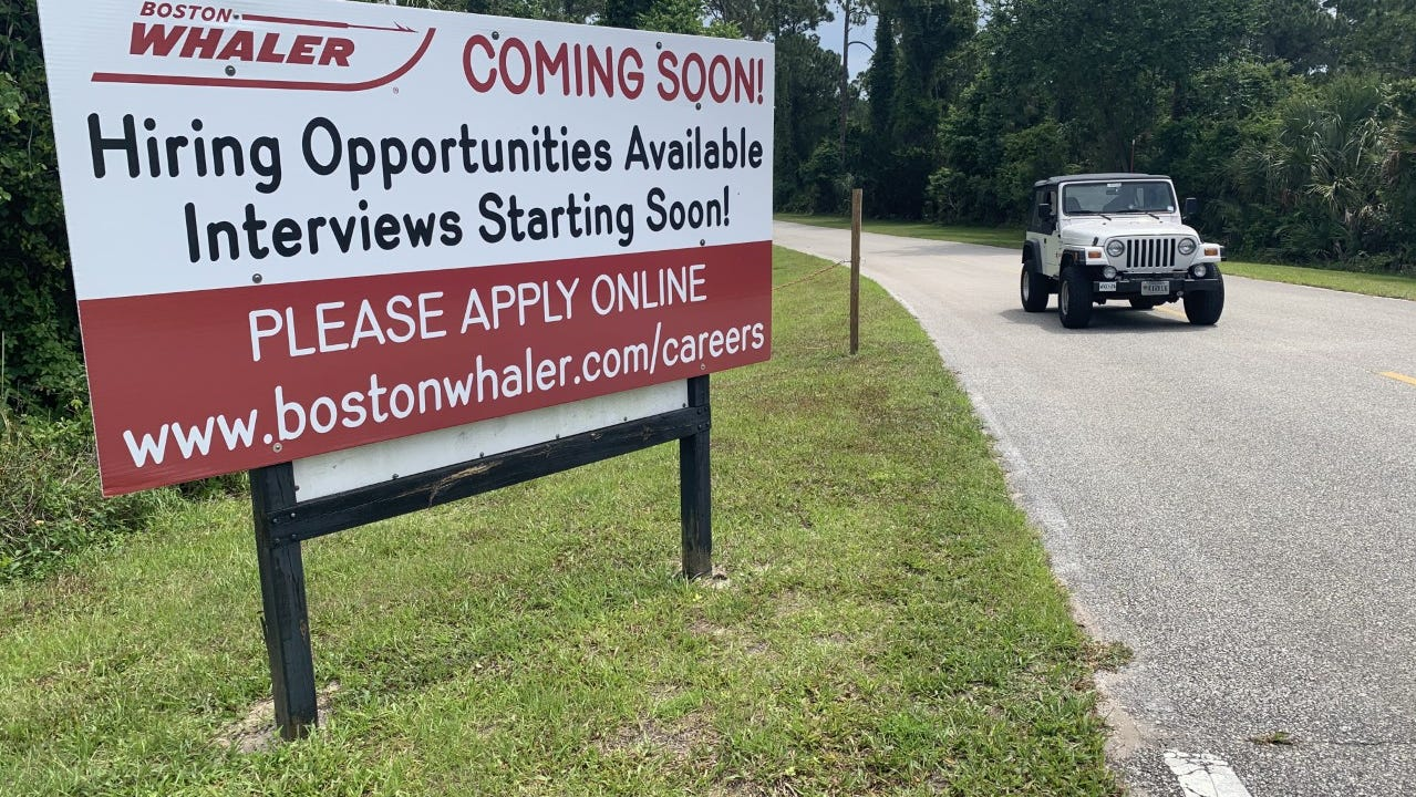 Daytona leads US in employers looking to hire amid labor shortage