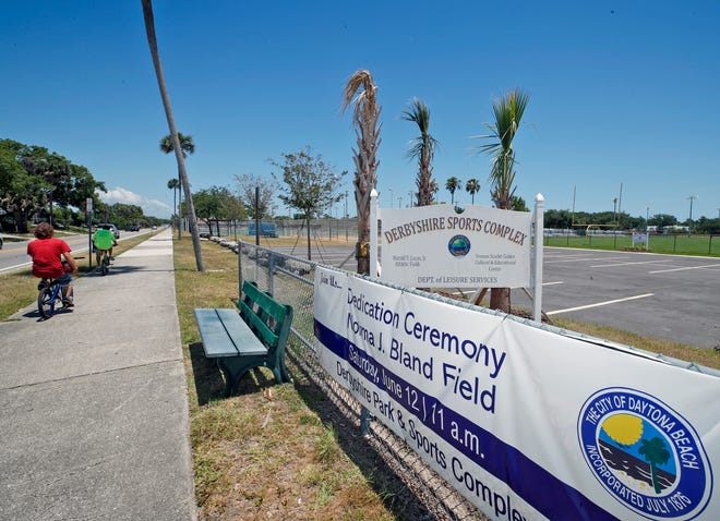 On Saturday, aceremony will be held to name the new multipurpose playing field at the Derbyshire Park & Sports Complex in Daytona Beach in honor of Norma Bland, a longtime local resident and community activist who died of COVID-19 last July.