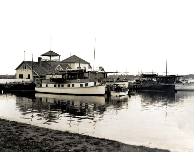 The Halifax River Yacht Club sometime around the late 1920s. Photo by Richard LeSesne.