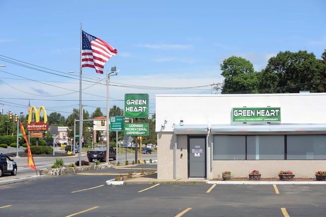 Green Heart est un nouveau dispensaire de marijuana à des fins récréatives au 897 North Montello St. à Brockton, vu ici le mercredi 9 juin 2021.