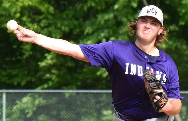 Aidan Maxwell struck out the first eight LaFayette batters during No. 1 seed West Canada Valley's Section III Class C-2 quarterfinal baseball victory Tuesday.