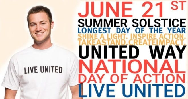 United Way of Grayson County is asking locals to do an act of kindness for the National Day of Action on June 21