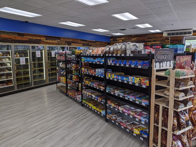 Dockside Marketplace, formerly known as Anchor Party Store, has been heavily remodeled. The business reopened with limited product in mid-May, while management awaits its liquor license from the state.