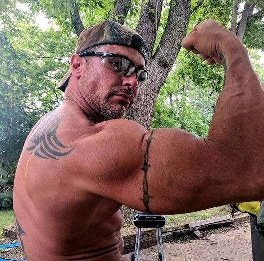 Rex Monroe, a fitness buff, is shown in this undated photo. The Peoria man died Sunday in a Jet Ski accident on the Illinois River.
