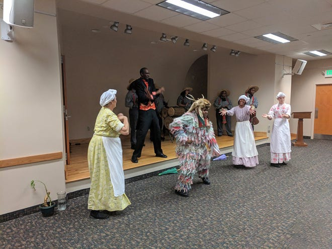 Jonkannu is a festive African American dance and will be performed at Kinston's Juneteenth 2021.