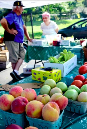 The Tallmadge Farmers Market is back on June 17. One of the returning vendors is Crowe's Country store, pictured here.