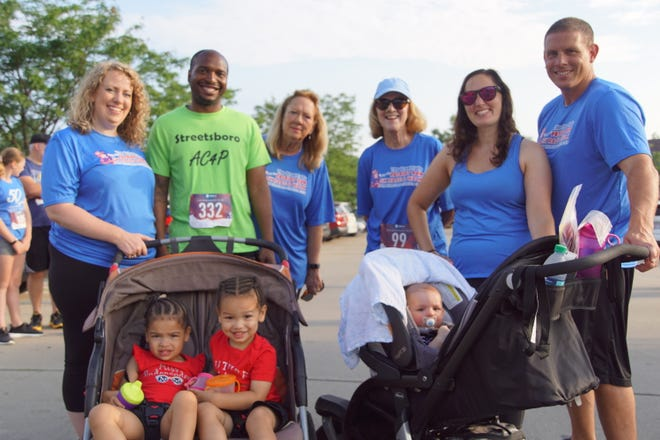 Pictured are runners from the 2019 Great Falls Patriot Race; this year's race will be virtual.