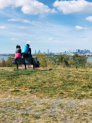People get great views of the city skyline from George's Island. The island, located seven miles from Downtown, is one of the most popular places to visit in Boston Harbor.