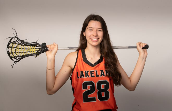 Isabel Norsworthy of Lakeland was named the Polk Preps girls lacrosse player of the year.