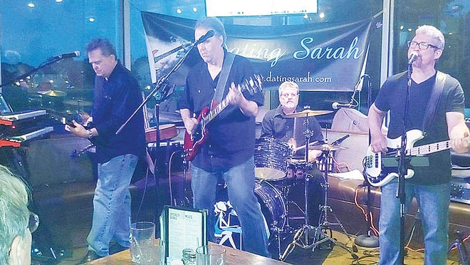 The band Dating Sarah will perform Saturday night at Haymarket Square at Leavenworth Main Street's Leavenworth Live Free Outdoor Summer Concert Series.