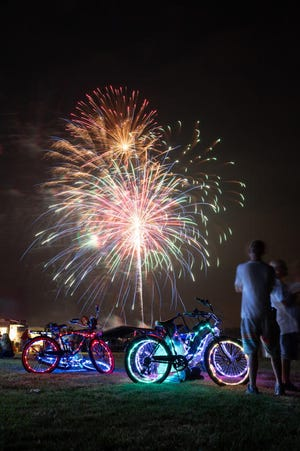 After a year-long hiatus due to the COVID pandemic, the fireworks show is back on for Monroe County.