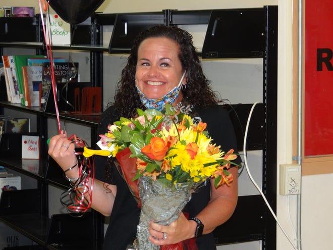 2021-2020 Newport District Teacher of the Year Angela Johnson.