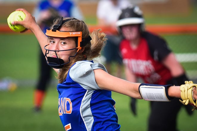 Poland's Shelbi Hagues was named one of the Center State Conference all-stars for the 2021 season.