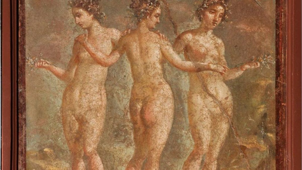 'Once-in-a-lifetime show.' OKC museum setting scene for ancient Rome exhibit with art, food