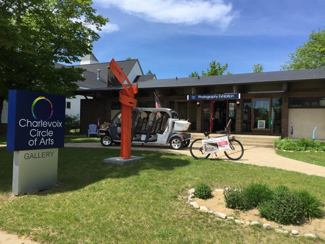 The Charlevoix Circle of Arts is located in downtown Charlevoix.