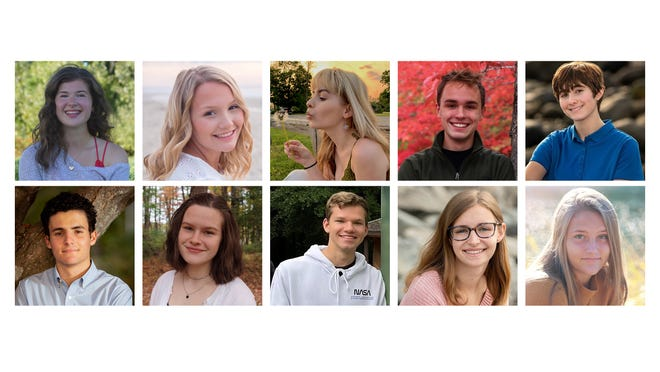 Dover High School has named the Top 10 students of its Class of 2021.