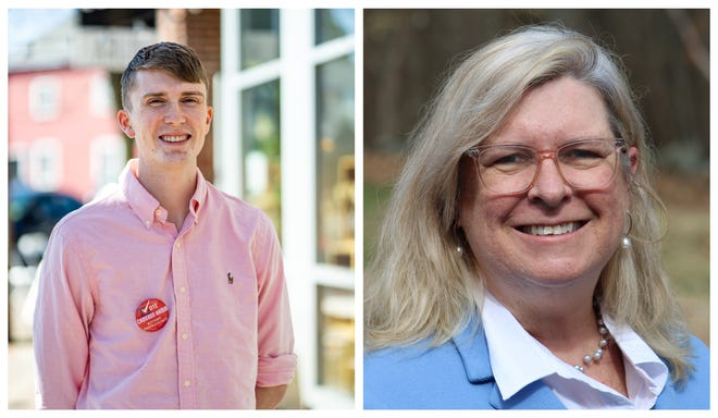 Cameron Hamm and Mary Gibbons Stevens are Kittery's two newest Town Council members after residents voted for them in Tuesday's town election.