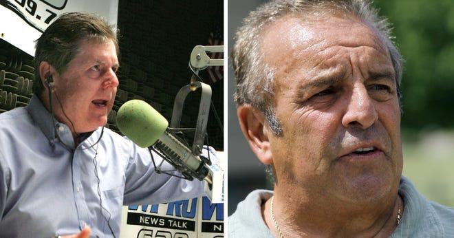Providence Journal file photos of Dan Yorke and Gerry Zarrella