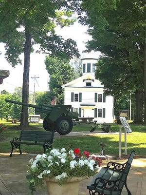 The Mantua Township Hall, as seen in this photo from the township website.