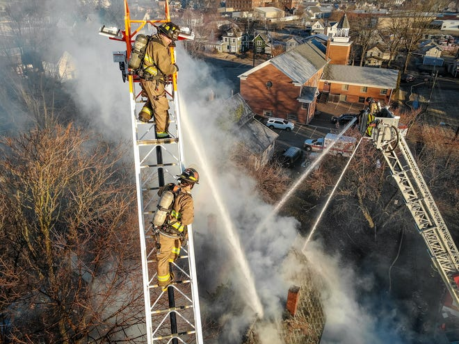 Justin Deierling's drone gives Canton firefighters a bird's eye view.