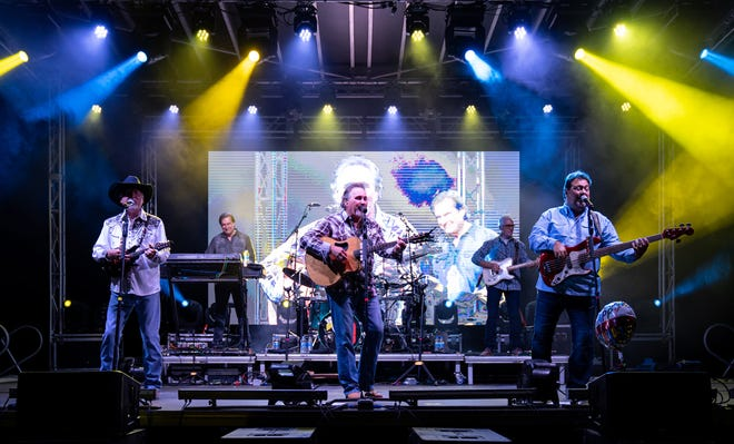 Diamond Rio performs at Concerts for a Cause to raise money for Alpha-Omega Miracle Home on May 22.