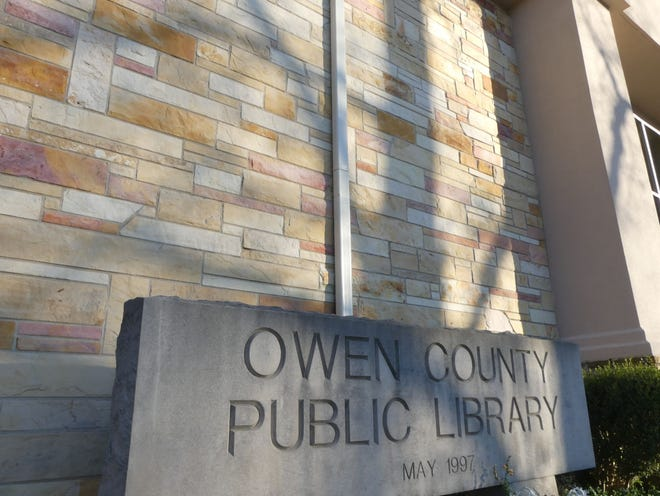 Find out what's new and happening at the Owen County Public Library, including the book sale this Saturday!