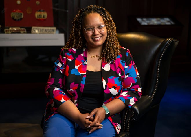 Christina Shutt is the new executive director of the Abraham Lincoln Presidential Library and Museum and is the fifth person to serve in the role, and the first person of color to hold the title.
