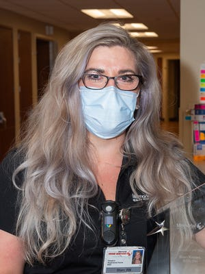 Starr Knoles, a registered nurse in the oncology department at Memorial Medical Center, was recently named Mentor of the Year.