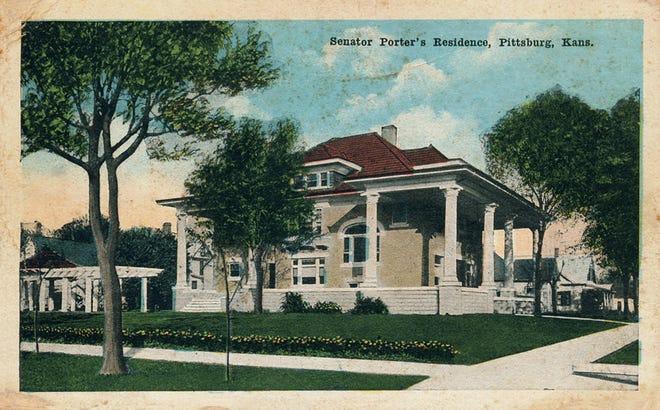 Senator Porter Home, 502 W. Kansas, 1915