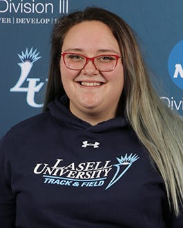 Assabet Valley Tech graduate Hannah Besaw of Shrewsbury majored in hospitality management at Lasell University.