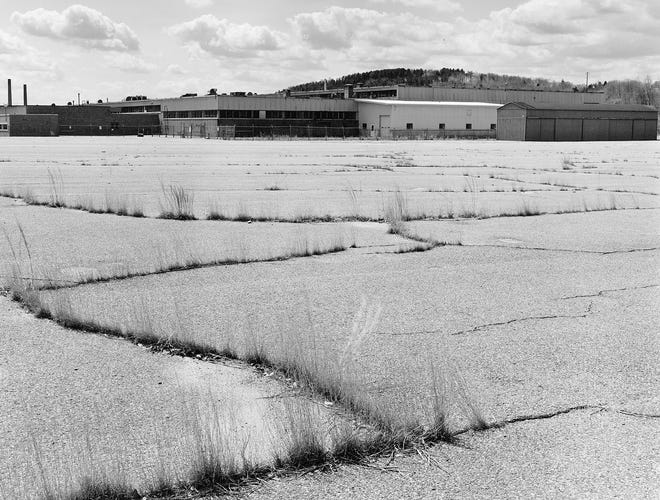 Warner & Swasey Plant at 145 Brooks St. in Worcester, in a 1993 photo.
