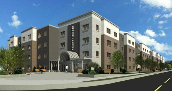 The $25 million Enclave on Main project is a 4-story, 102-unit apartment complex set to occupy the corner of Main Street and Maplewood Avenue.