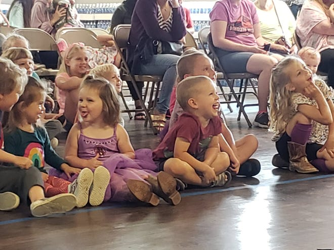 Bubble Master Brett Roberts helped kick off the Van Alstyne Public Library's summers reading program June 1 in front of an enthusiastic audience of kids.