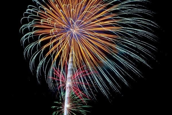 Fireworks mark Fourth of July clebrations