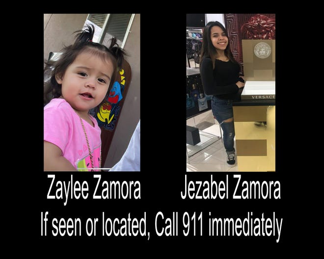 An Amber Alert was sent out regarding the kidnapping of Jezabel Zamora and her daughter, Zaylee.