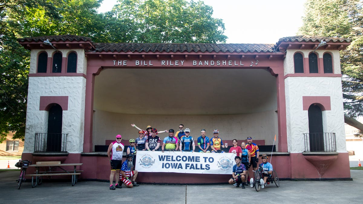 RAGBRAI overnight stop Iowa Falls is ready to show why it's called the Scenic City