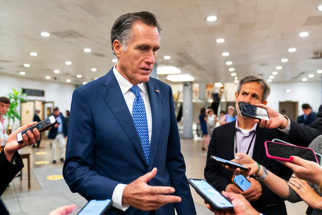 Romney, senators craft infrastructure plan without tax hikes 2