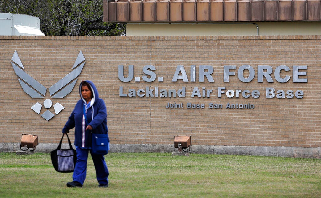 San Antonio base locked down for hour after gunfire reported 2