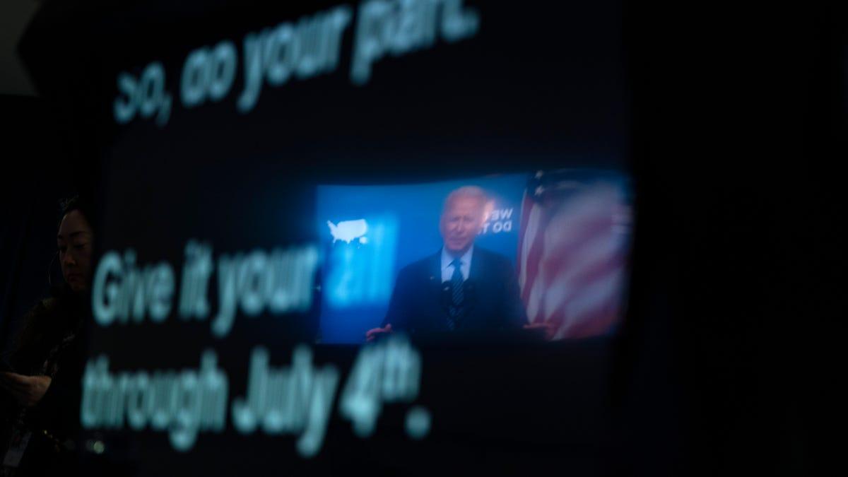 US increasingly unlikely to meet Biden's July 4 vax goal 3